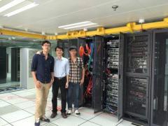 微思网络理工学院两学员参与国检网络设备维护