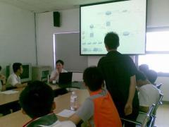 理工软件学院学生参观国家会计学院