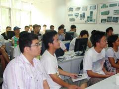 厦大学生到微思网络参观学习